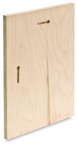"""Dovetail Slots, 8¾"""" × 11¾"""" Uncradled Panel"""