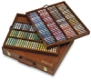 Assorted Colors, Wooden Box Set of 175, Full Sticks