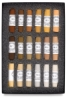 Set of 18, Natural Earth Colors
