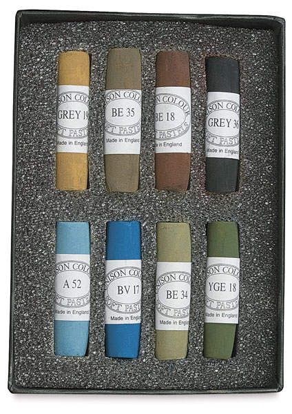 Set of 8, Portrait Eye Colors