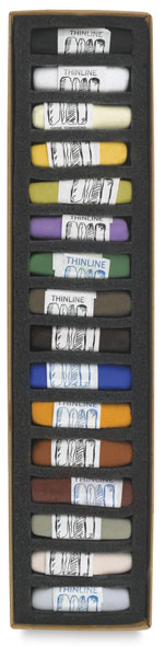 Solid-Thinline, Set of 16