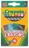 Construction Paper Crayons, Pkg of 16