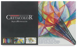 Cretacolor Aqua Monolith Woodless Watercolor Pencil Sets
