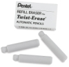 Refill Erasers, Package of 3