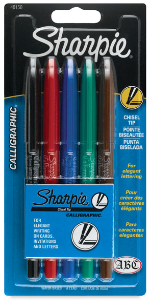 Calligraphic Markers, Set of 5