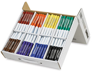 Washable Markers, Master Pack of 200