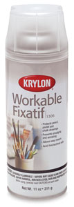 Krylon #1306 Workable Matte Fixative