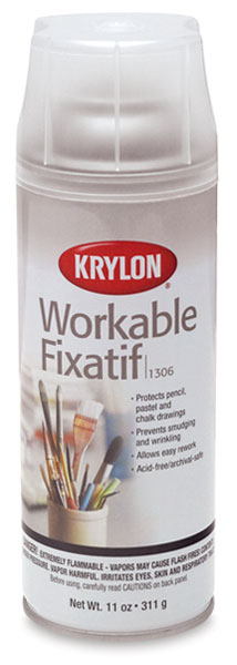 Workable Matte Fixative