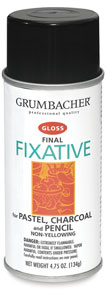 Grumbacher Final Fixative