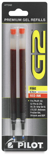 G2 Gel Pen Refill, Pkg of 2
