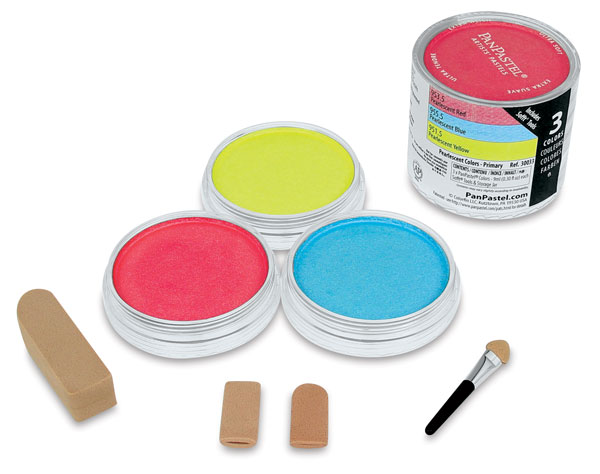 Pearlescent Primary Colors, Set of 3