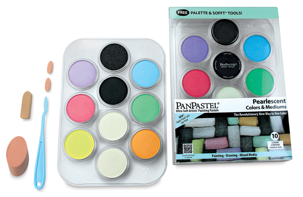 Pearlescent Color and Mediums, Set of 10