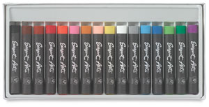 Artists' Oil Pastels,Regular, Set of 16