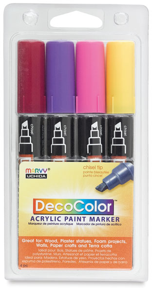 Bright Colors, Set of 4