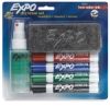 Assorted Chisel Tip Dry Erase Low Odor Starter Set