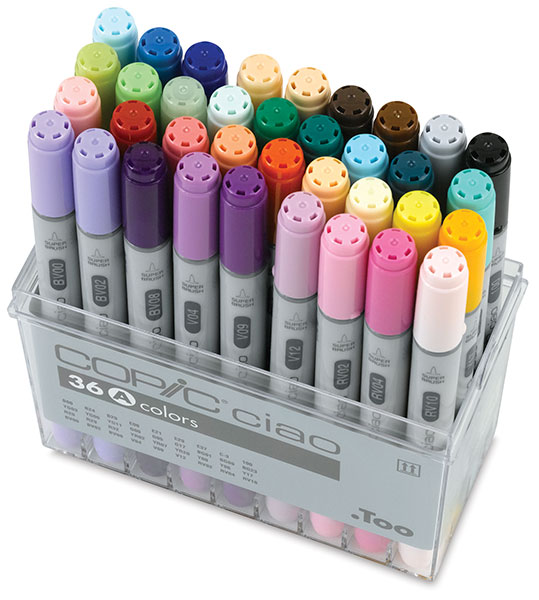 Set A of 36 Markers