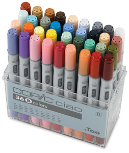 Set B of 36 Markers