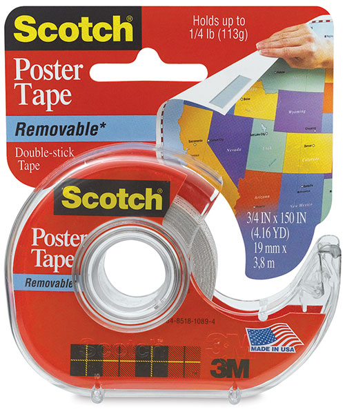 Removable Poster Tape