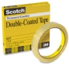 Scotch #665 Double-Coated Transparent Tape