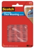 Scotch Removable Clear Mounting Squares