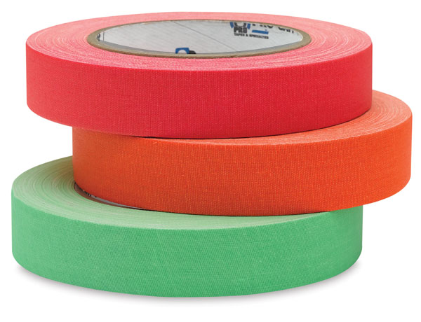 Colored Gaffer Tape (colors no longer available)