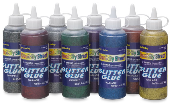 Set of 8 Colors, in 4 oz Bottles
