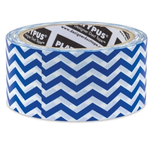 Cobalt Blue Chevron