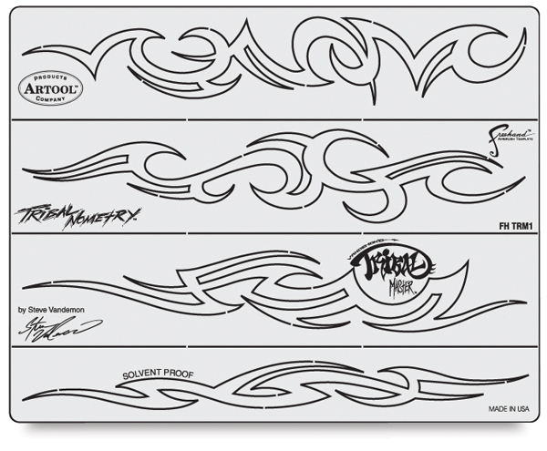 Tribal Master Templates, Set of 7
