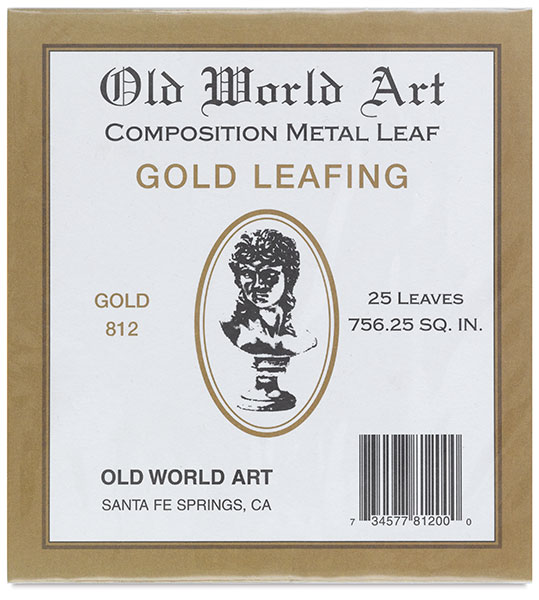 Gold Leafing, 25 Sheets