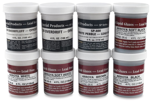 Special Effects Glaze Class Pack, Set of 8