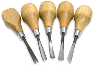 Wood and Linoleum Carving Kit