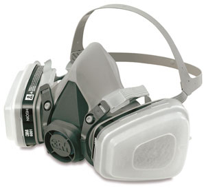 3M Easi-Air Paint Spray Respirator Assembly