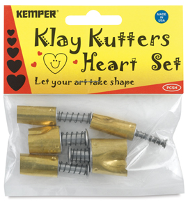 Set of 5 Cutters, Heart