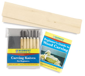 Midwest Products Wood Carver's Starter Kit