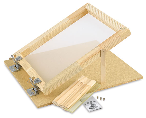 """Screen Printing Unit, with 10"""" Squeegee"""