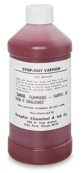 Stop-Out Varnish