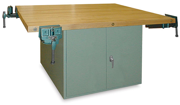4-Door Workbench with Vises