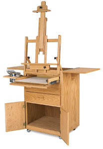 Artist Taboret with Easel