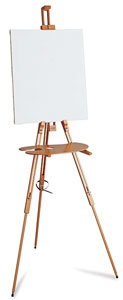 Field Painting Easel M-27 (Canvas and Palette Not Included)