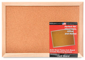 Natural Cork Bulletin Board