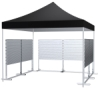 Market Stand with Eight Panels, Tent not included