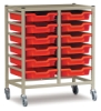 Fleetwood Storage Tote Tray Carts