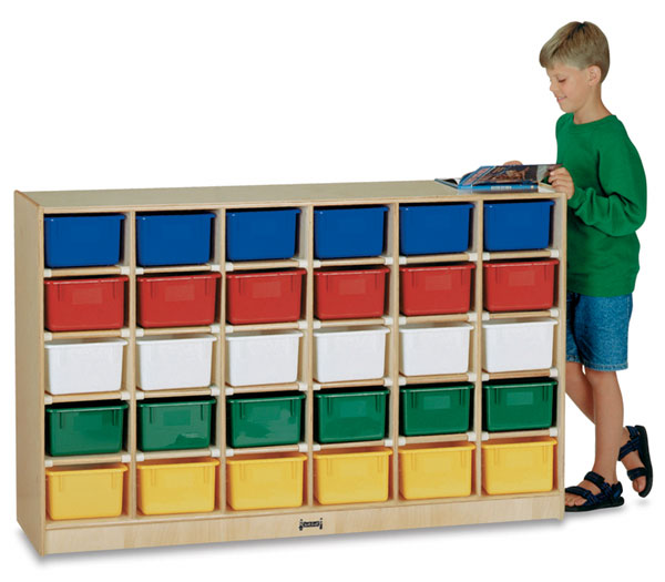 Mobile Storage Unit with 30 Trays