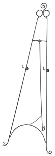 Wrought Iron Display Easel