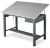 Small Economy Ranger Drawing Table with Tool Drawer