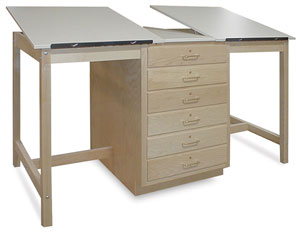 Dual Station Drafting Table