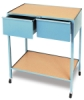 Horizontal Drawer Taboret