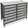 Hann Mobile Tote Tray Cart
