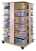 Whitney Brothers 24-Cubby Tower