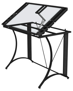 Monterey Craft Table, Black